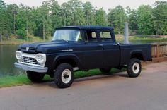 1960 Ford Crew Cab F250 4x4