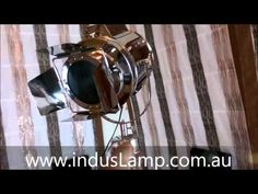 Lixue - Cinema Spotlight Tripod Floor Lamp Home Decor Tripod Lamp, Floor Lamp, Spotlight, Lamps, Cinema, Unique, Home Decor, Lightbulbs, Movies