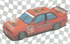 BMW M3 E30 DTM 1992 Paper Car Free Vehicle Paper Model Download - http://www.papercraftsquare.com/bmw-m3-e30-dtm-1992-paper-car-free-vehicle-paper-model-download.html#124, #BMW, #BMWM, #BMWM3, #Car, #DTM, #E30, #PaperCar, #VehiclePaperModel
