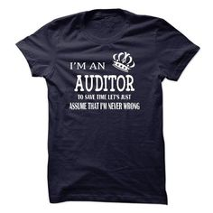 I AM  AN AUDITOR T-SHIRTS, HOODIES (23$ ==► Shopping Now) #i #am # #an #auditor #shirts #tshirt #hoodie #sweatshirt #fashion #style
