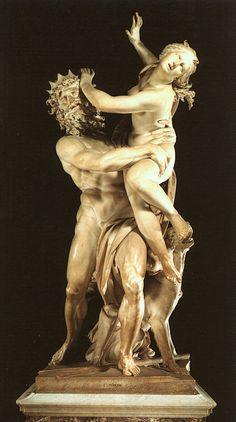 The Rape Of Proserpina by Gian Lorenzo Bernini