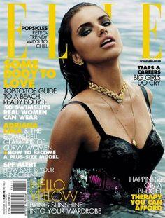 Elle US 2011 October - #Adriana Lima