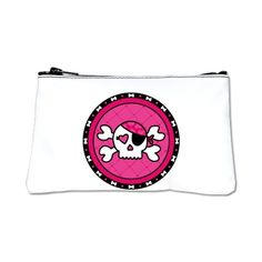 Pink Skull Pirate Coin Purse