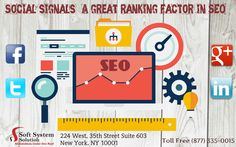 With the growing trend of search engine optimization for website ranking in SERPs, social media signals too have played vital role. Many search engine optimization professionals' make use of this method for high-ranking placement in the search results page. # https://softsystemsolutionservices.wordpress.com/2015/09/18/social-signals-a-great-ranking-factor-in-seo/