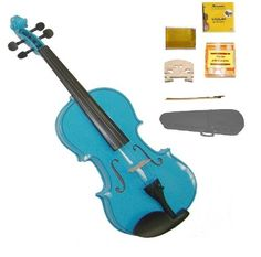 GRACE 14 Size Blue Acoustic Violin with Case and BowRosin2 Sets Strings2 BridgesTuner *** Want additional info? Click on the image.