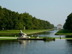 the gardens of Nymphenburg Castle, Munich