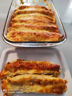 Τραγανά μπαστούνια Σπανακόπιτας Lasagna, French Toast, Breakfast, Ethnic Recipes, Food, Morning Coffee, Essen, Meals, Yemek