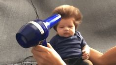 2-Month-Old Boy Draws Adorable Attention with His Luscious Bouffant Hair - My Modern Met