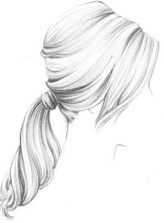 Dessin tresses chignon dessin pinterest coiffures et - Comment dessiner une tresse ...