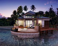 A vacation home you'll never want to leave    http://inhabitat.com/eco-luxury-for-the-bahamas%E2%80%99-star-island/