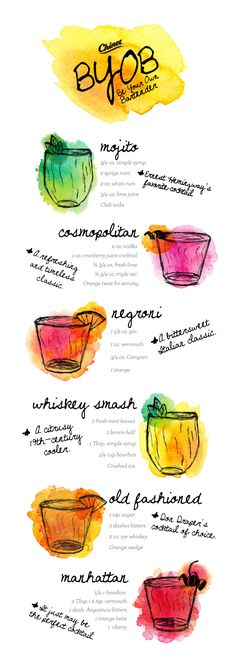 Be your own bartender! Take your holiday party from ordinary to extraordinary with our helpful guide to delicious drinks. #MyChinetParty