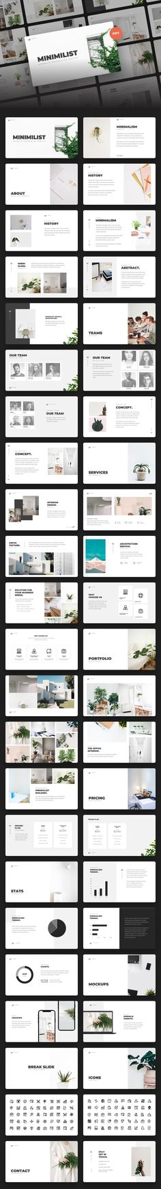 Buy Minimilis - Minimalist Business Power Point Template by mhudaaa on GraphicRiver. Minimilis – Minimalist Business Power Point Template Minimilis is presentation template that can be used for any var. Design Presentation, Business Presentation, Presentation Templates, Template Power Point, Presentation Backgrounds, Free Web Fonts, Design Brochure, Layout Design, Site Design