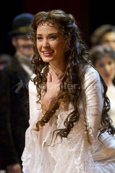 """You are enough. You are so enough. It is unbelievable how enough you are."" -Sierra Boggess (Pictured as Christine Daae in Phantom of the Opera)"