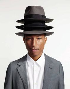 The smooth, happy, groovin' and wonderfully infectious Pharrell Williams.