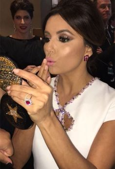 Eva Longoria's now-fiancé, Jose Antonio Baston, proposed amongst the Dubai sand dunes with a jaw-dropping ruby ring, fit for a desert queen.