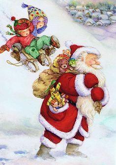 Детские открытки. Новый год. Художница Lisi Martin. Обсуждение на LiveInternet - Российский Сервис Онлайн-Дневников
