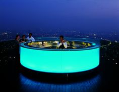Lebua State Tower in Bangkok, Thailand #honeymoon-hotels
