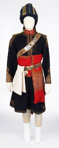 Officer's full dress uniform worn by Major J A C May-Somerville, 11th King Edward's Own Lancers (Probyn's Horse), 1913 (c) | Online Collection | National Army Museum, London