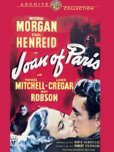 Joan of Paris de Robert Stevenson