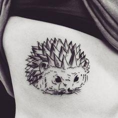 Hedgehog Tattoo by ornela_ironink
