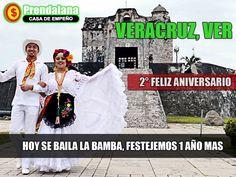hoy al Puerto de Veracruz a festejar. Saludos Prendalana!