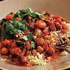 Spicy Moroccan Chickpeas Recipe