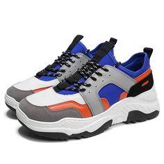 check out 35315 39012 S333 Men Fashion Comfortable Sports Shoes Rubber Sole EU43 - Blue
