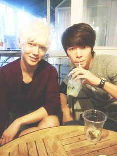 YeSung & DongHae - my boyfriend Donghae is so pretty!!!