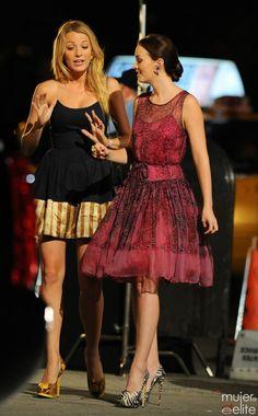 Serena Van der Woodsen y Blair Waldorf