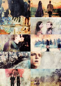 """""""This trip doesn't end when you get back home. You never get off this train."""" --- Haymitch I'm such an Everlark Fan"""