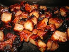 Chinese BBQ pork...this entire site has just about every Chinese takeout recipe you could want.