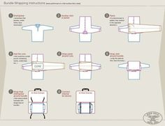 How to fold your clothes for a suitcase