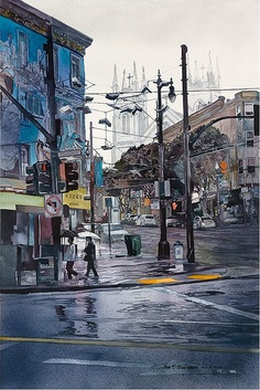 John Salminen – Watercolours
