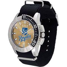 Game Time MLB Men's Kansas City Royals Starter Series Watch, Black