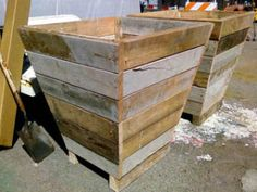 Repurpose Wood Scraps Into Planter Boxes