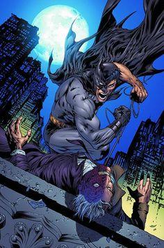 Batman #712 - Batman vs Two-Face