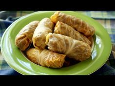 Cabbage Rolls / Polish Gołąbki - Easy to Follow, Step by Step Recipe - YouTube