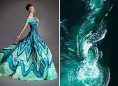 Veja como as belezas naturais podem influenciar a criação dos designers de moda!