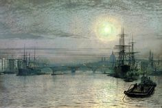 John Atkinson Grimshaw / London Bridge John Atkinson Grimshaw was a…