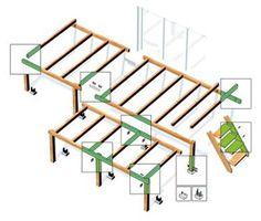 1000 images about terrasse sur pilotis on pinterest - Construction d une terrasse en bois sur pilotis ...