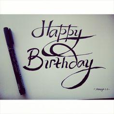 Happy Birthday #lefthanded