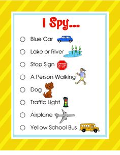 darling doodles i spy travel game printable with 3 different levels dad loves road