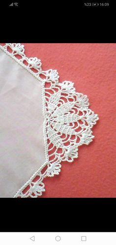 Crochet Flower Tutorial, Crochet Flowers, Crochet Borders, Crochet Stitches, Crochet Designs, Crochet Patterns, Crochet Placemats, Crochet Art, Free Pattern