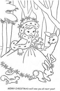 Merry Christmas Embroidery  Would make a cute page to print for the kids to color.....