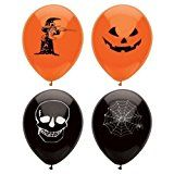 15 Assorted Halloween Balloons / 23cm / Halloween Trick Or Treat Scary Party Fun by Henbrandt  (186)Buy new:   £1.35 22 used & new from £1.34(Visit the Bestsellers in Toys & Games list for authoritative information on this product's current rank.) Amazon.co.uk: Bestsellers in Toys & Games...