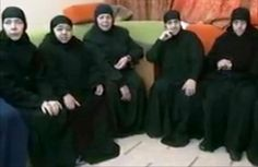 Kidnapped Nuns No Longer Bear the Cross February 20, 2014 they respond they are being treated fine but expressions say something different.  Let us pray for them.  Lord, I pray protection!