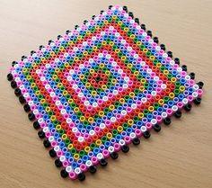 Coaster hama perler beads