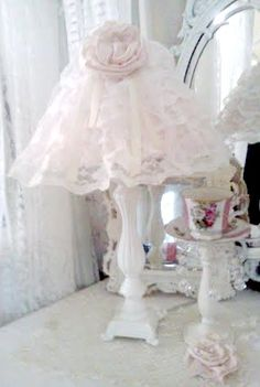 1000 images about lamparas on pinterest shabby chic - Lamparas estilo shabby chic ...
