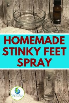 Stinky Feet Remedy - Essential Oil DIY Spray for Foot Odor! Looking for a stinky feet remedy? You will find this essential oil DIY spray for foot odor very helpful. It is one of the best homemade remedies for smelly feet. Essential Oil Spray, Essential Oils, Foot Remedies, Herbal Remedies, Health Remedies, Vicks Vaporub Uses, Foot Spray, Foot Odor, Natural Home Remedies