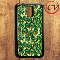 Feather Peacock Samsung Galaxy S5 Case